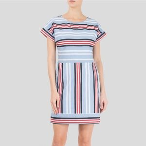 ⭐️HP⭐️ BNWT Love Moschino Striped Twill Mini Dress